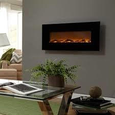 Touchstone 80001 Onyx 50 Electric Wall Hanging Fireplace